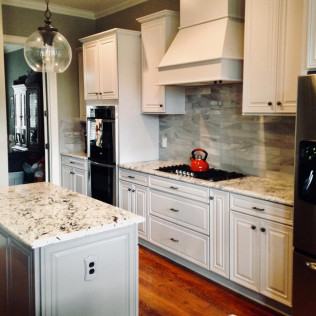 A renovated kitchen in Fort Mill & Rock Hill, SC