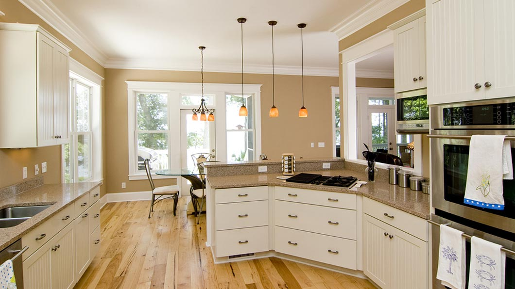 A kitchen and dining room newly renovated in Fort Mill & Rock Hill, SC